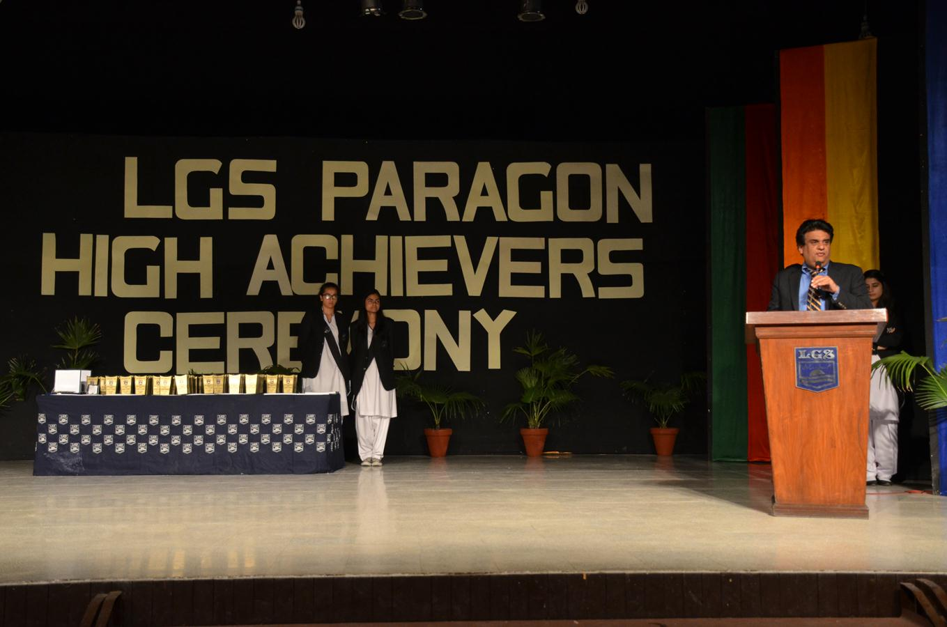 High Achievers Ceremony 2014-15