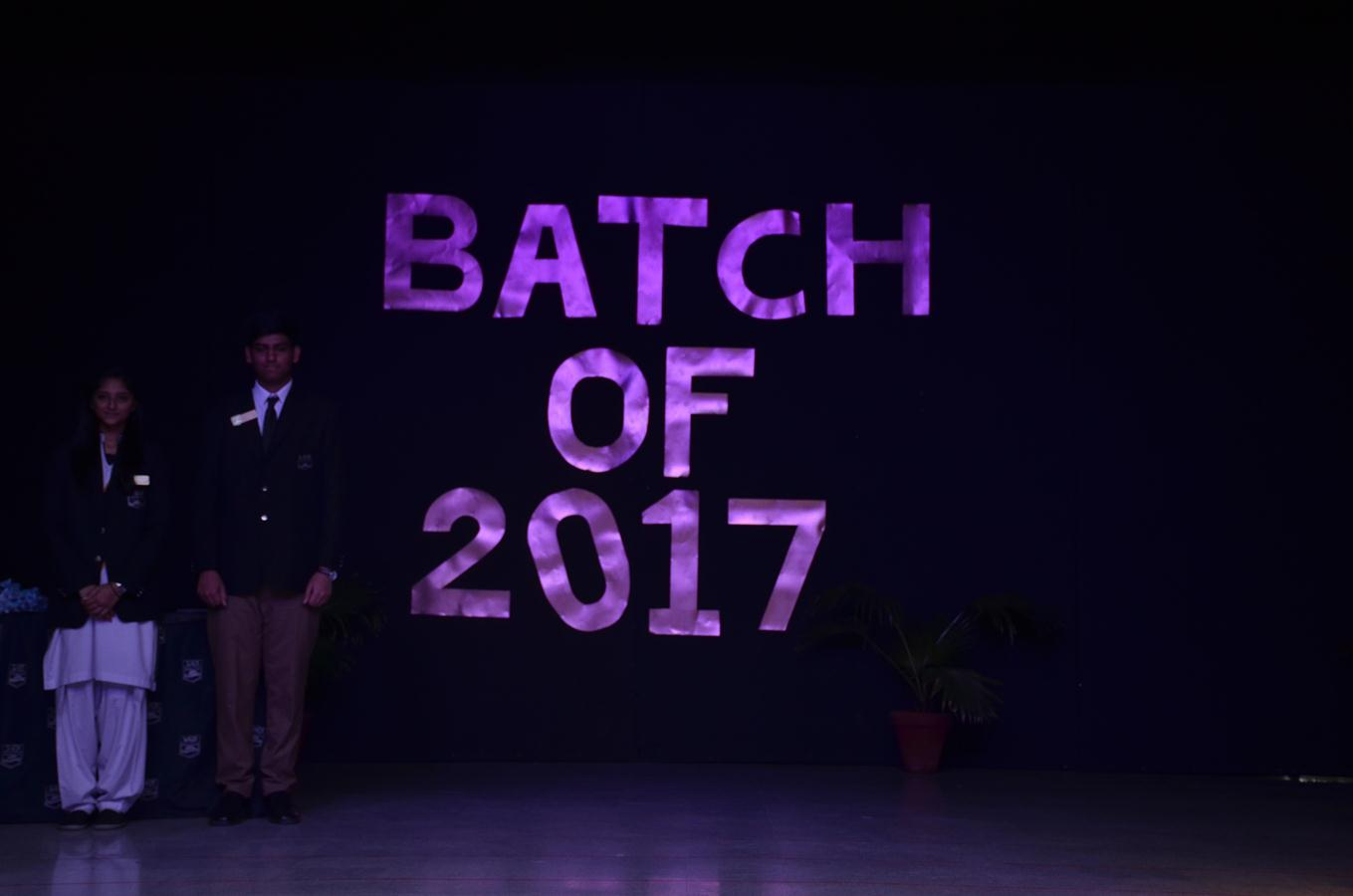 A level Graduation Ceremony (Batch of 2017)