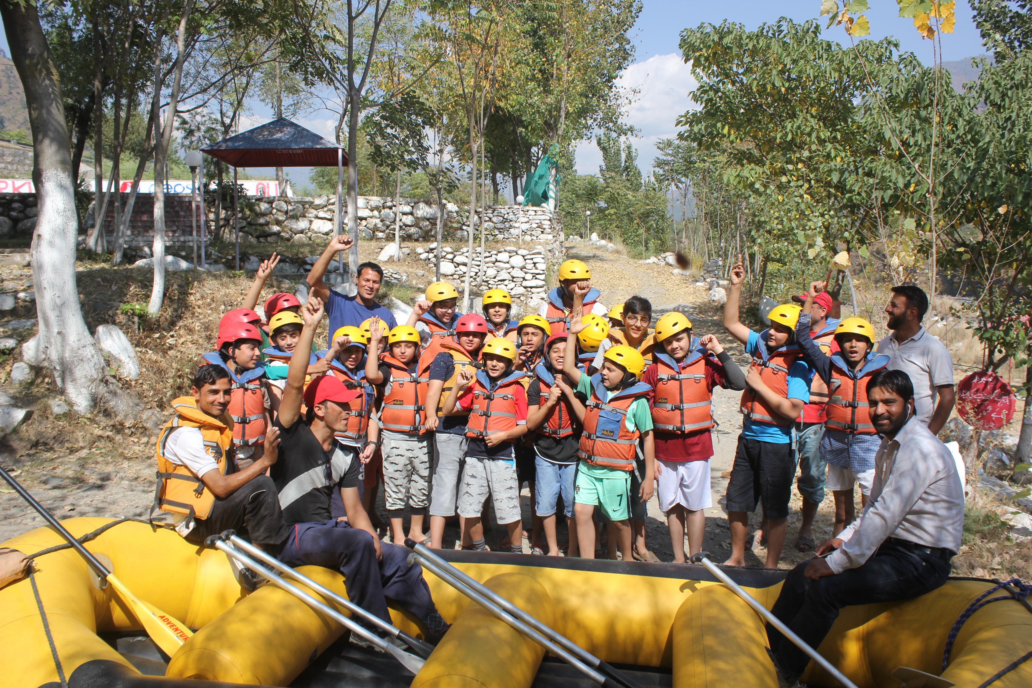 Middle School Rafting