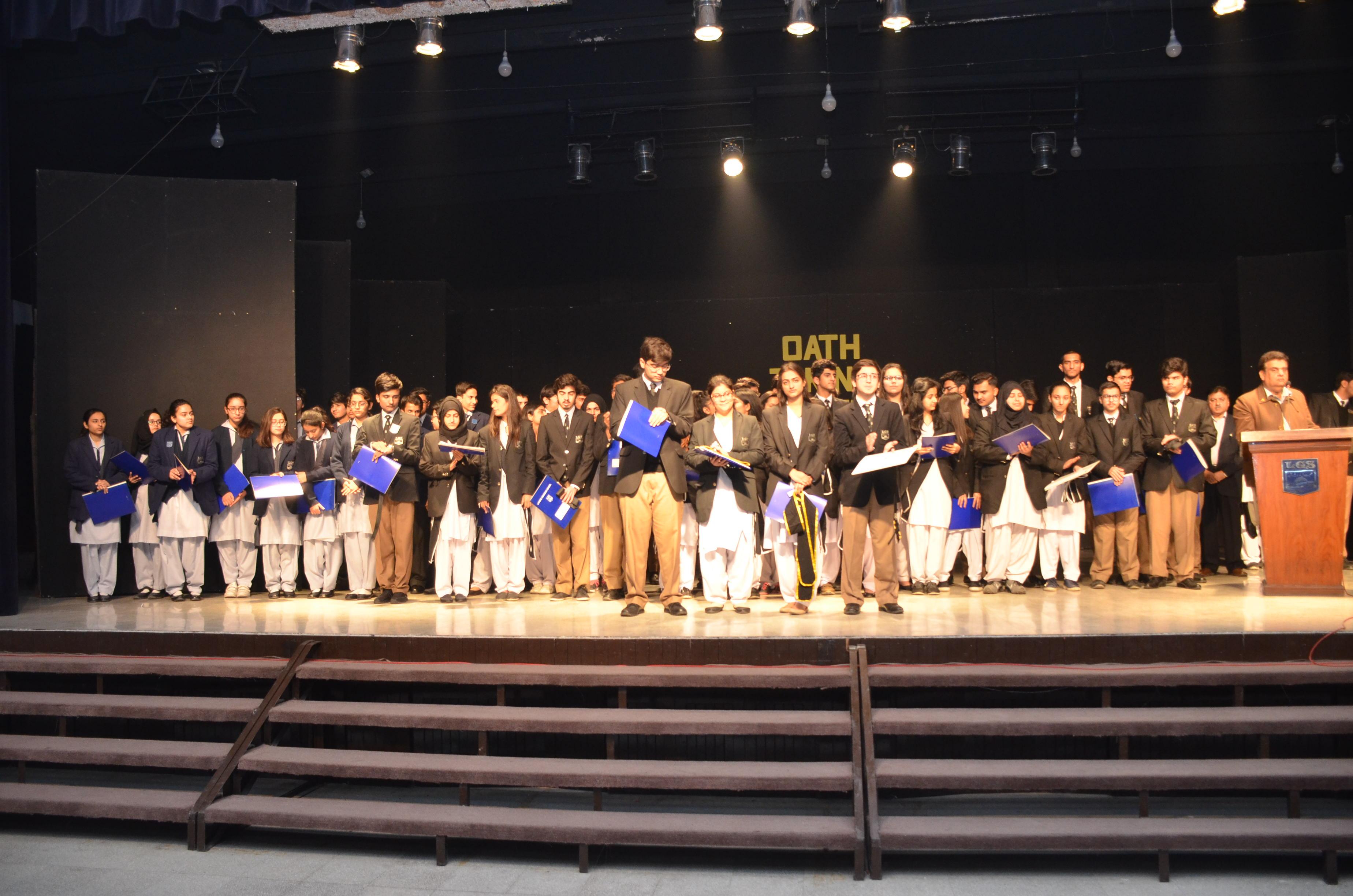 Oath Taking 2019-2020 (Senior School)